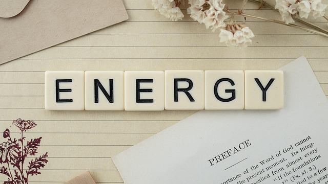 ENERGYの文字
